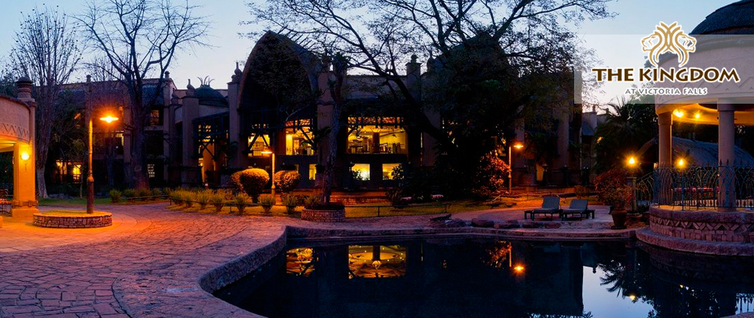 Image result for the kingdom HOTEL at victoria falls