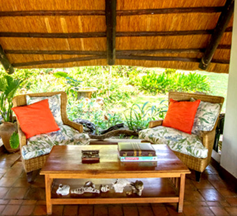 Imbabala Safari Lodge Relaxing Area