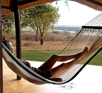 Imbabala Safari Lodge View from room